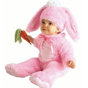 Pink Bunny Infant Halloween Costume (0-6 Months)